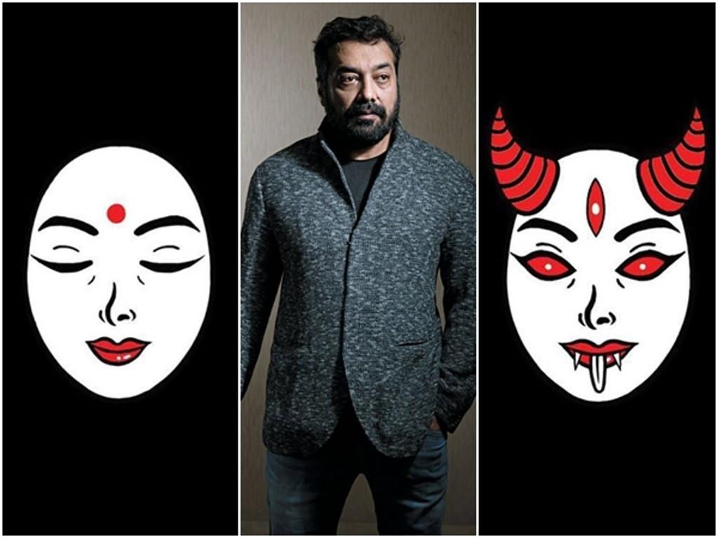 Anurag Kashyap memperkenalkan logo milik syarikat produksi Good Bad Films.