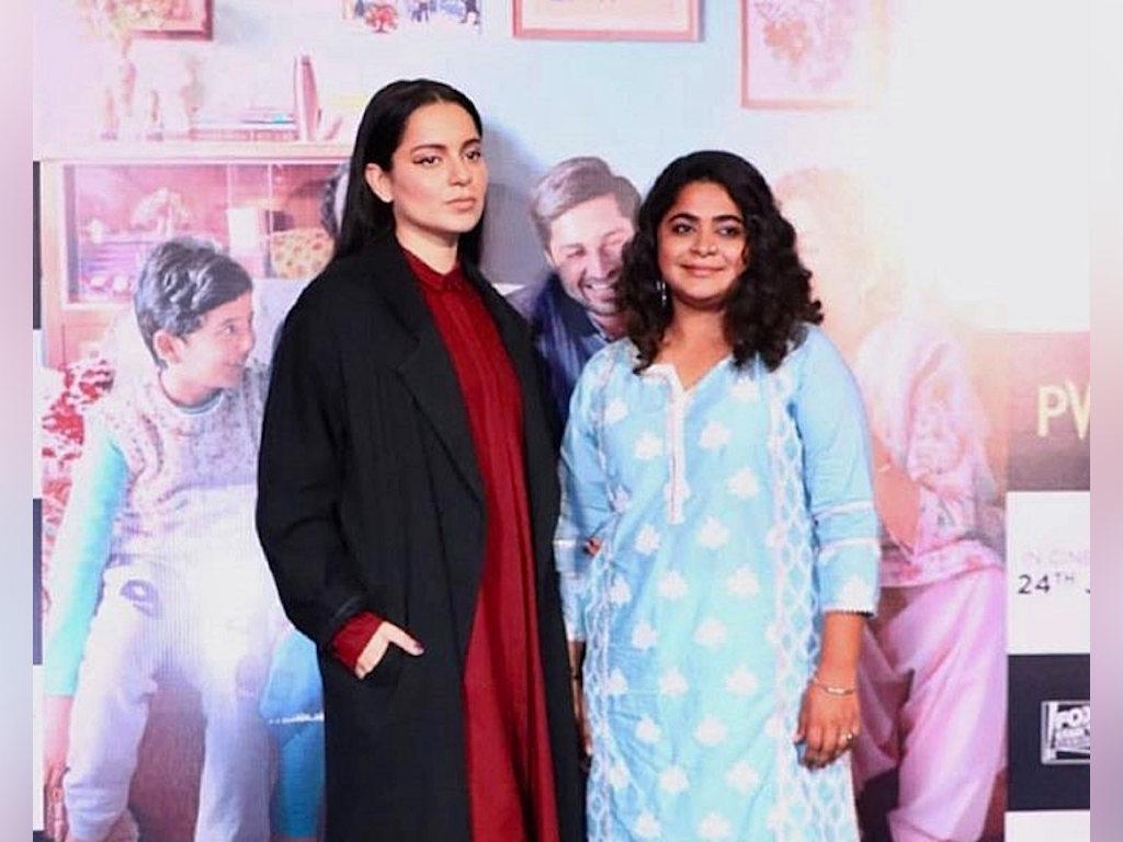 Ashwiny Iyer Tiwari dan Kangana Ranaut sibuk mempromosikan filem