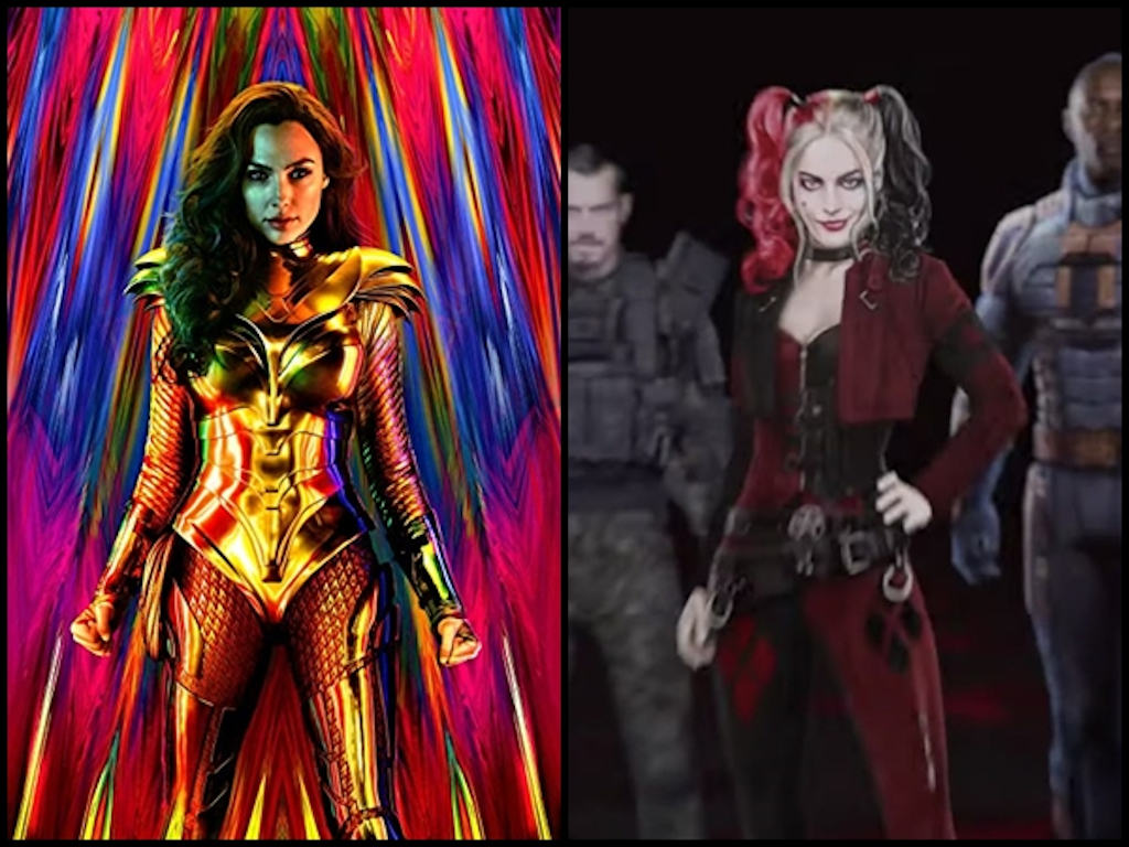 """Wonder Woman 1984"", ""The Suicide Squad"" are among the Warner Bros. titles receiving the simultaneous release."