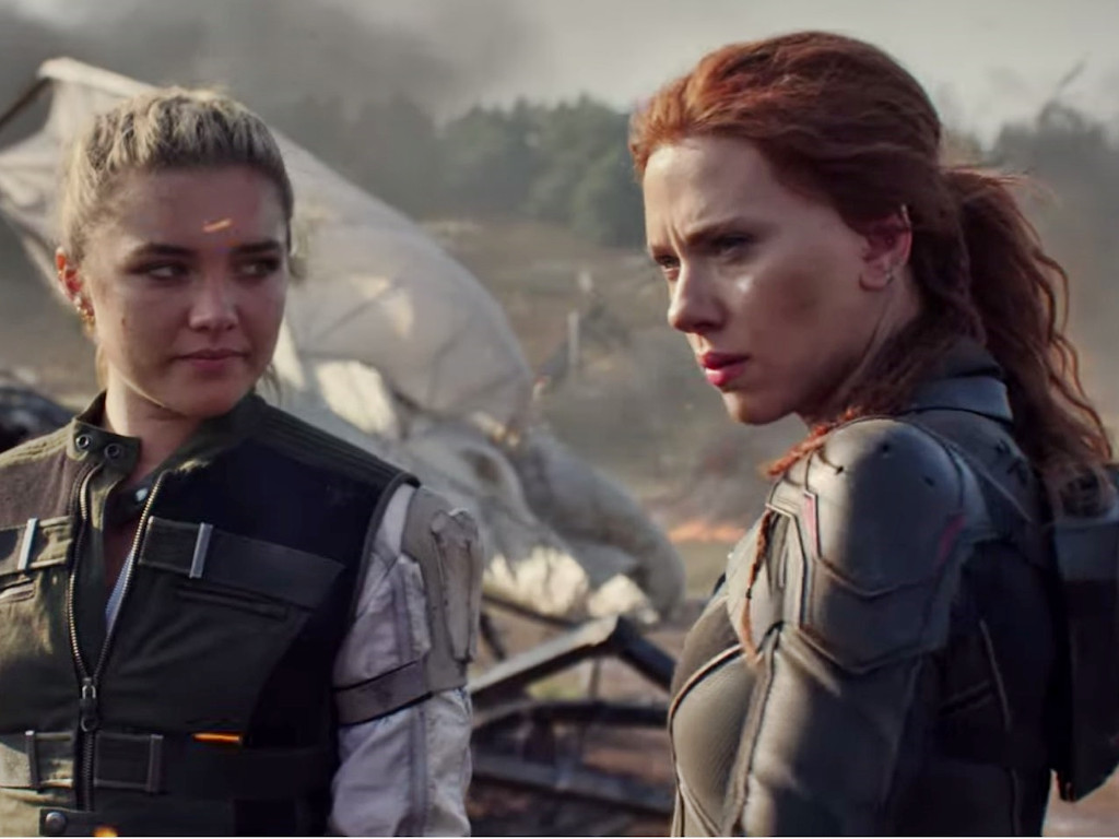 "Looks like it'll be some time before fans get to see the Florence Pugh-Scarlett Johansson team up in ""Black Widow""."