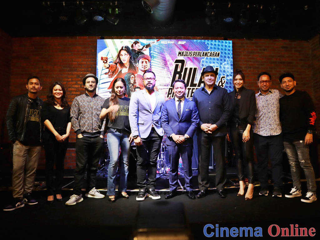 """Rumours of Daredevil joining """"The cast and director of """"Bulan Dan Pria Terhebat""""."""