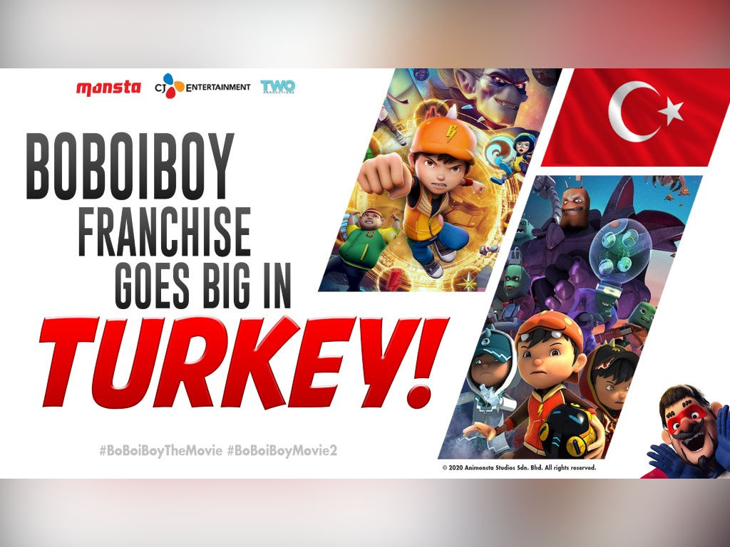 This proves that Malaysian animation are on a par with Hollywood.