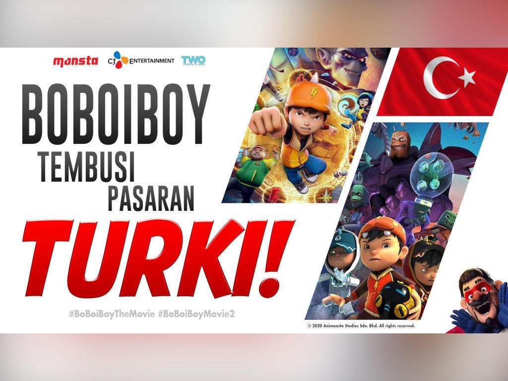 Terbukti Malaysia mampu menghasilkan animasi setanding Hollywood.