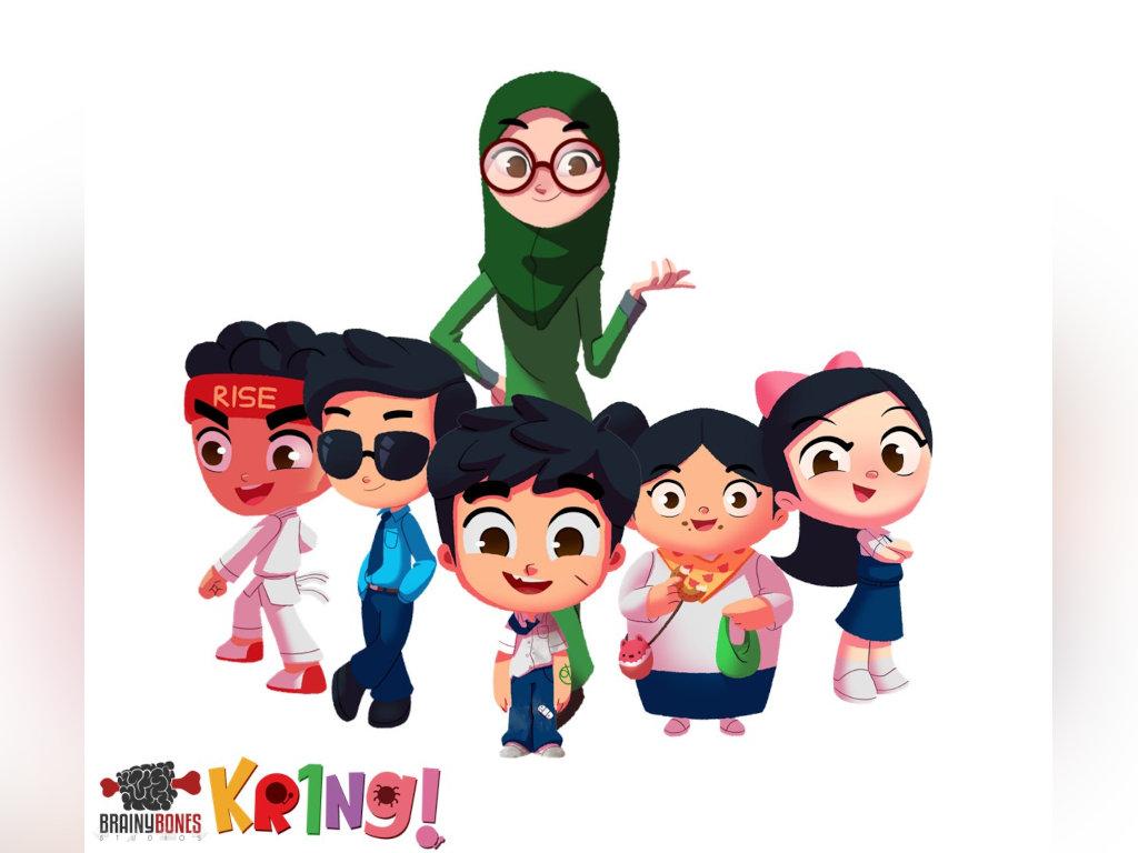 """Beberapa watak baru akan diperkenalkan dalam siri animasi """"Kring!""""."""