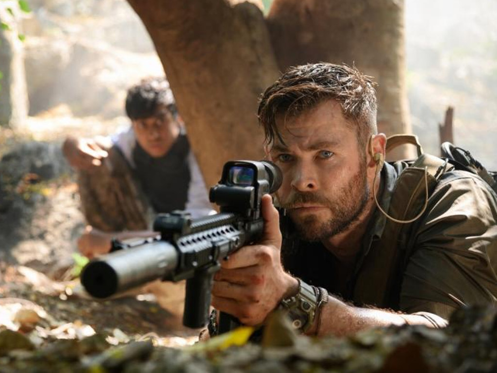 """Chris Hemsworth leads the Netflix action flick, """"Extraction""""."""