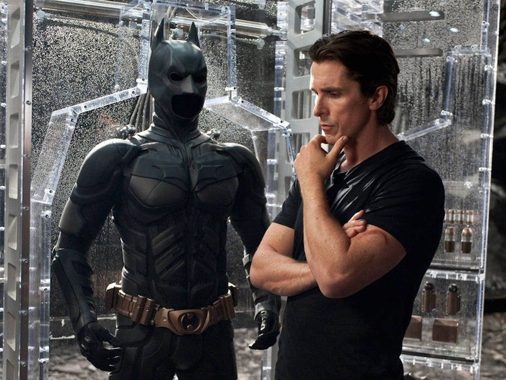 Looks like Batman is pondering whether he should join forces with Thor.