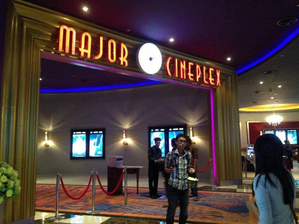Major Cineplex Aeon Mall.