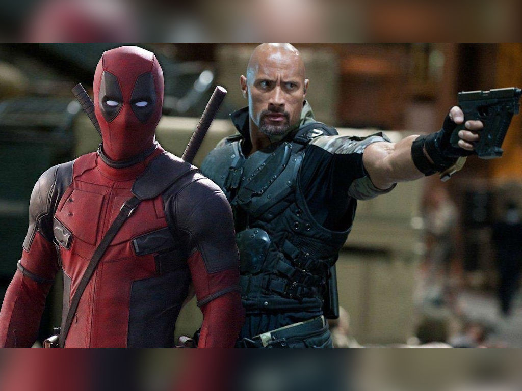 How epic would it be to see Deadpool and The Rock (playing The Rock?) sharing a screen?