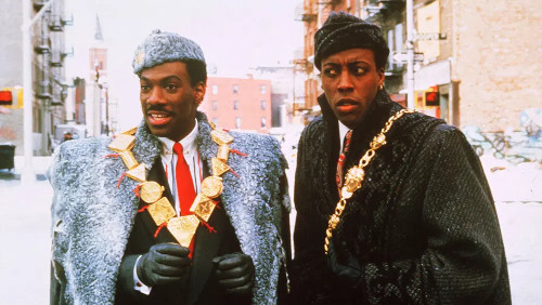 "In ""Coming 2 America"", the sequel to 1998's ""Coming to America"", King Akeem and Semmi will embark on a new adventure that takes them from Zamunda back to Queens."