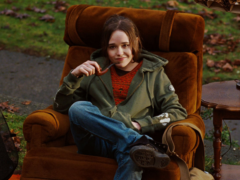 """""""Juno"""" star Ellen Page now goes by the name Elliot Page."""
