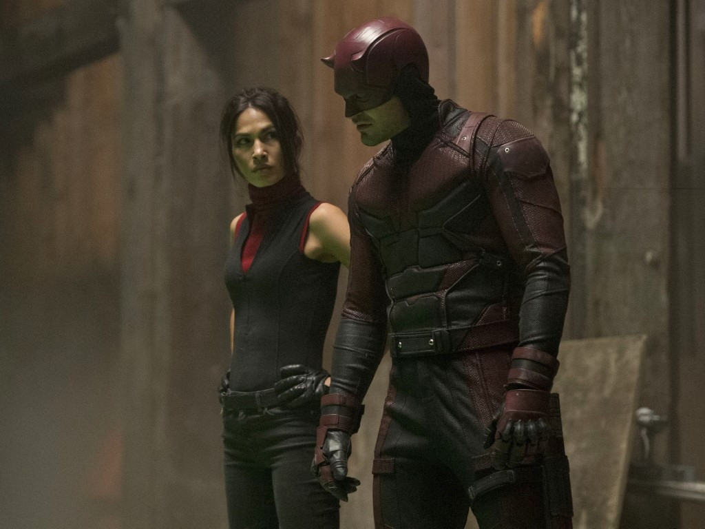 "Elodie Yung, seen here in her ""Daredevil"" role as Elektra, is the new lead for Fox drama ""The Cleaning Lady""."