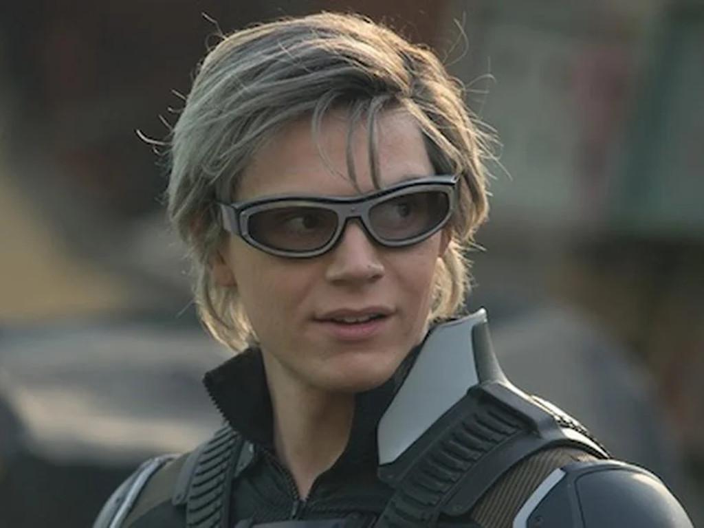 """Evan Peters seen here in his """"X-Men"""" Quicksilver role."""