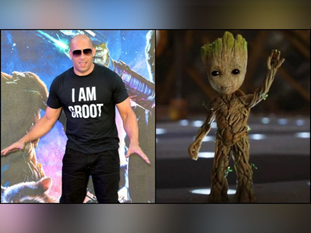 "Fans might be hearing Vin Diesel saying ""I am Groot"" quite a few times in ""Thor: Love and Thunder"