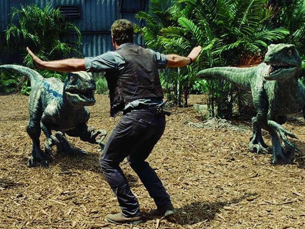 "Stop right there, the filming for ""Jurassic World: Dominion"" will have to continue at a much later date."
