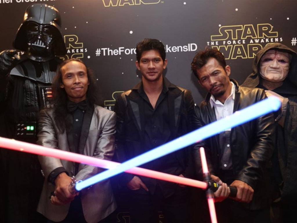 """Yayan Ruhian (L) and Cecep Arif Rahman (R) will both be in """"Jailbreak"""" sequel – though, sadly, not Iko Uwais (middle) too."""