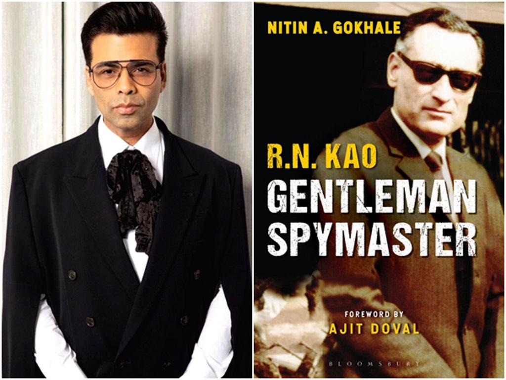 """Kulit buku """"R.N. Kao: Gentleman Spymaster"""" oleh penulis Nitin A. Gokhale."""
