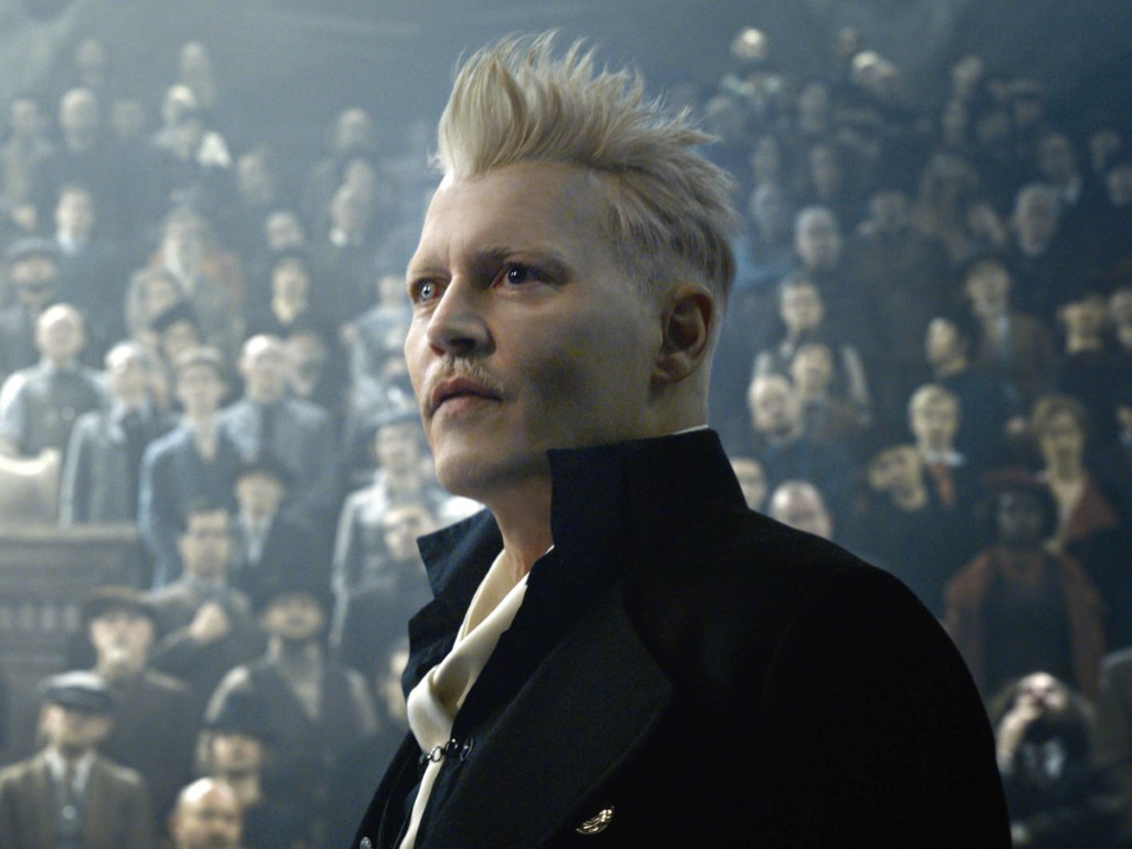 Johnny Depp starred as the titular wizard in 'Fantastic Beasts: The Crimes of Grindelwald'.