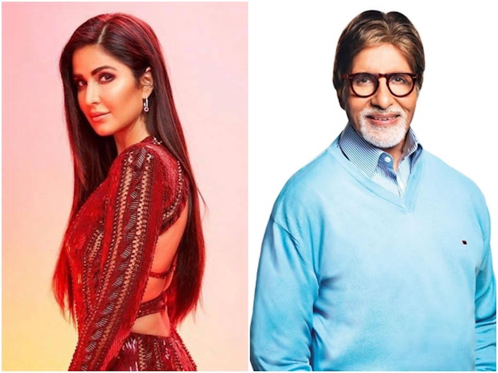 Katrina Kaif dan Amitabh Bachchan akan jayakan watak bapa dan anak.