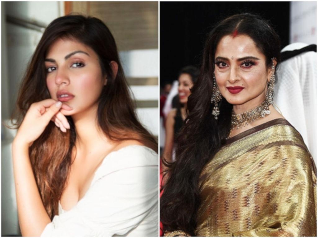 'Witch Hunt' melibatkan Rhea Chakraborty serupa dengan apa yang dihadapi Rekha dahulu.