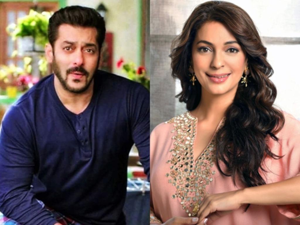 Salman Khan masih solo sementara Juhi Chawla sudah berkahwin dengan Jay Mehta.