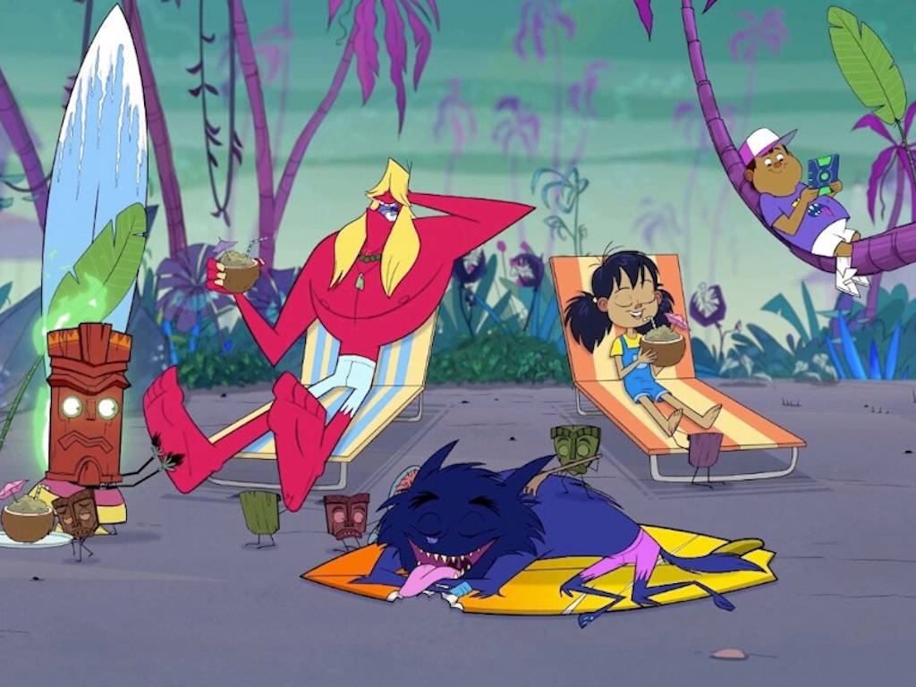 """Animated series """"Monster Beach"""" is a collaboration between three countries."""