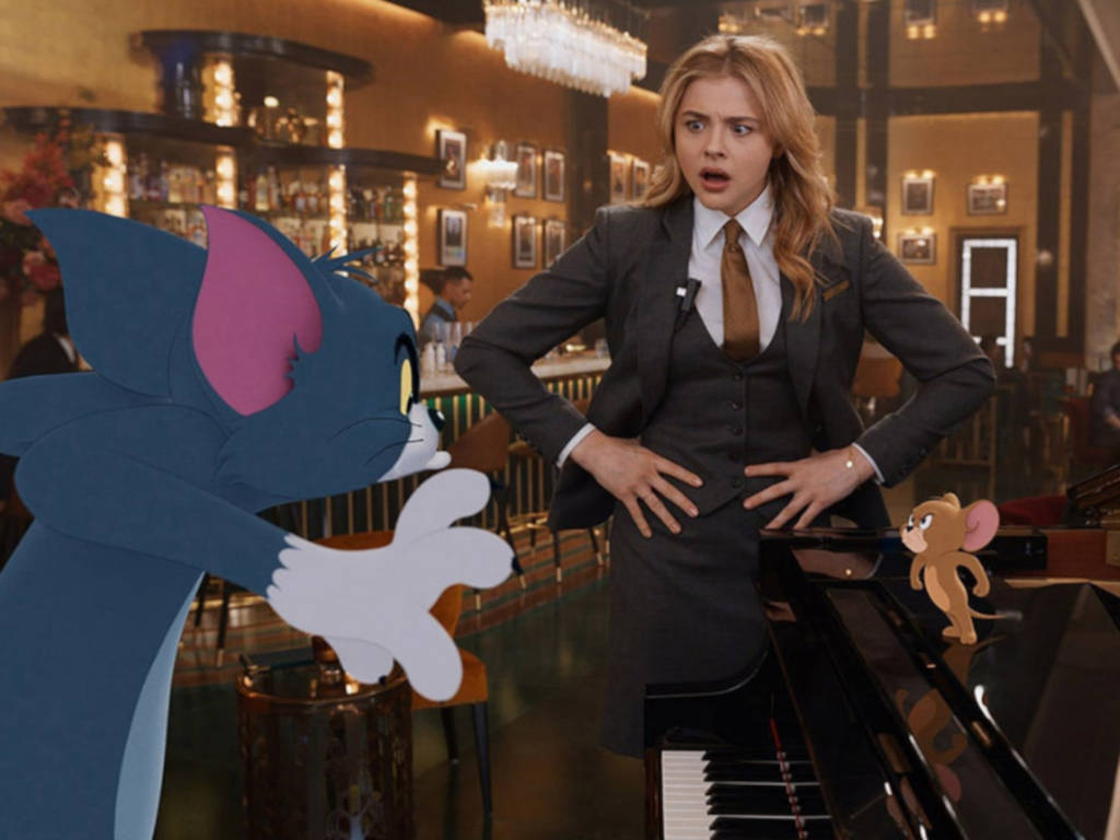 "Chloe Grace Moretz stars in the upcoming CG/live-action ""Tom and Jerry""."
