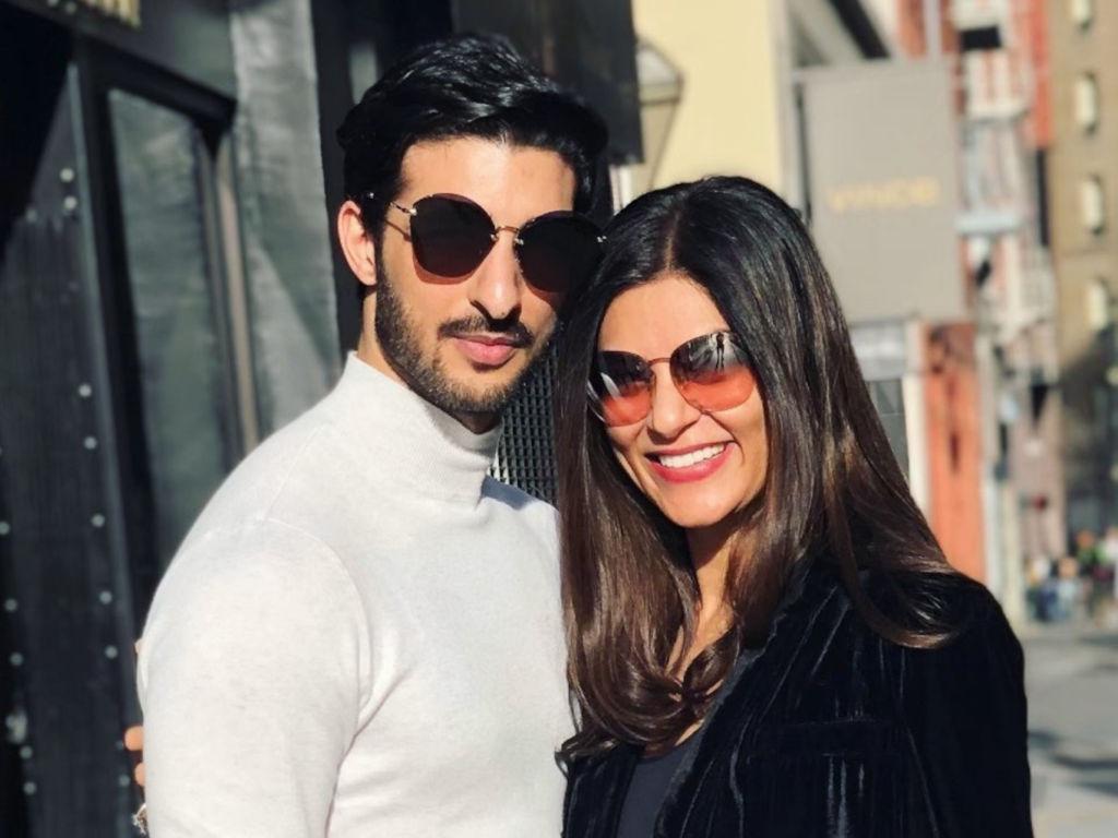 Sushmita Sen dan Rohman Shawl kenal antara satu sama lain melalui Instagram.