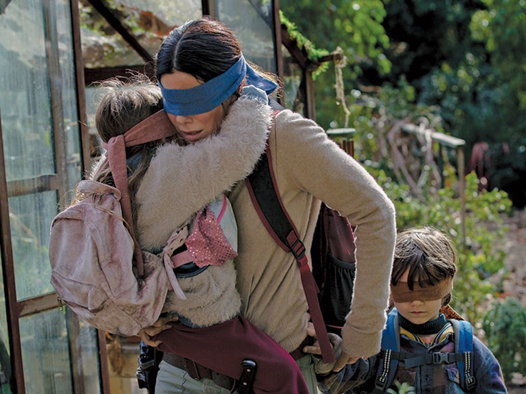 """Bird Box"" was released worldwide on Netflix in December 2018."