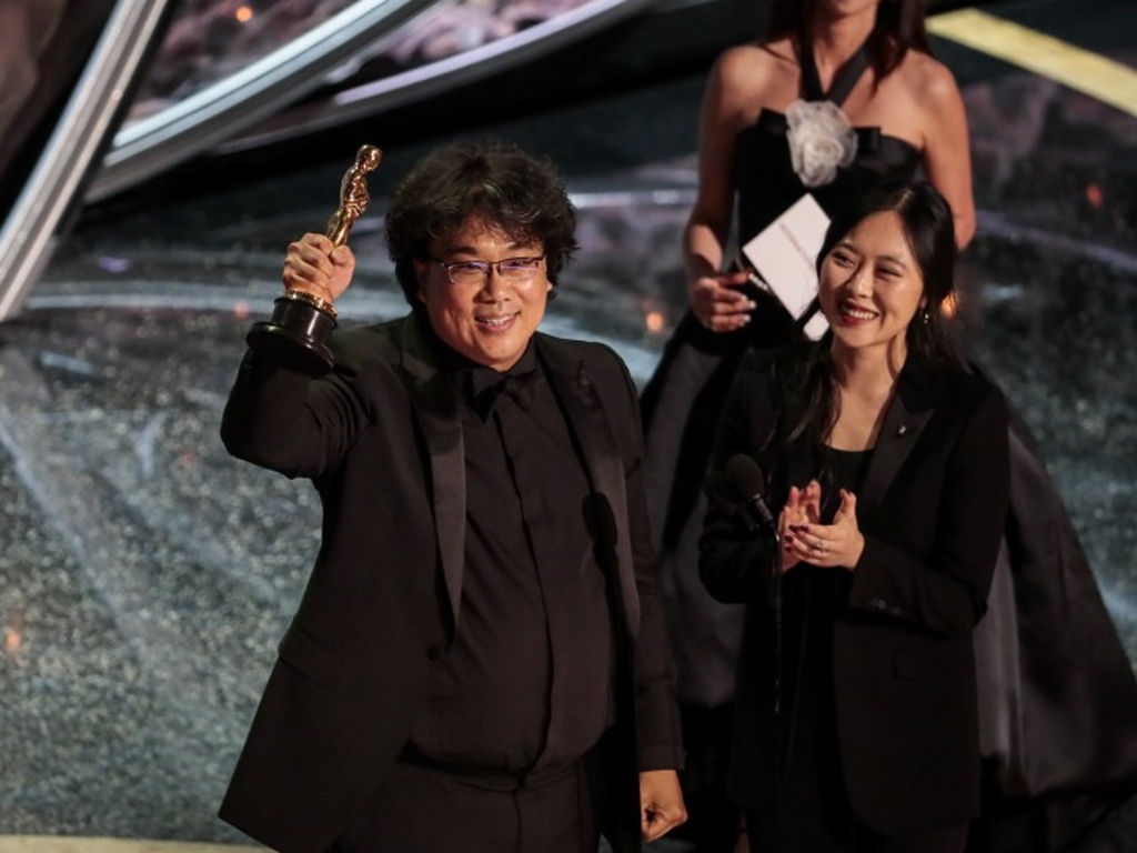 "Bong Joon Ho's ""Parasite"" is the first movie not in English to win the Oscars' Best Picture."