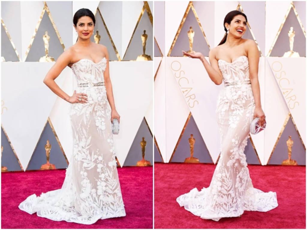 Priyanka Chopra hadir memeriahkan majlis karpet merah ketika Oscars 2016.