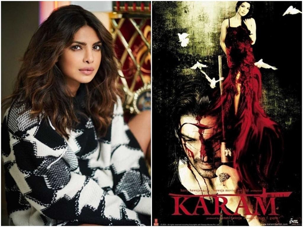 """Priyanka Chopra akui rasa bertuah kerana menerima penyanyi hebat untuk mengalih suaranya dalam filem """"Karam""""."""