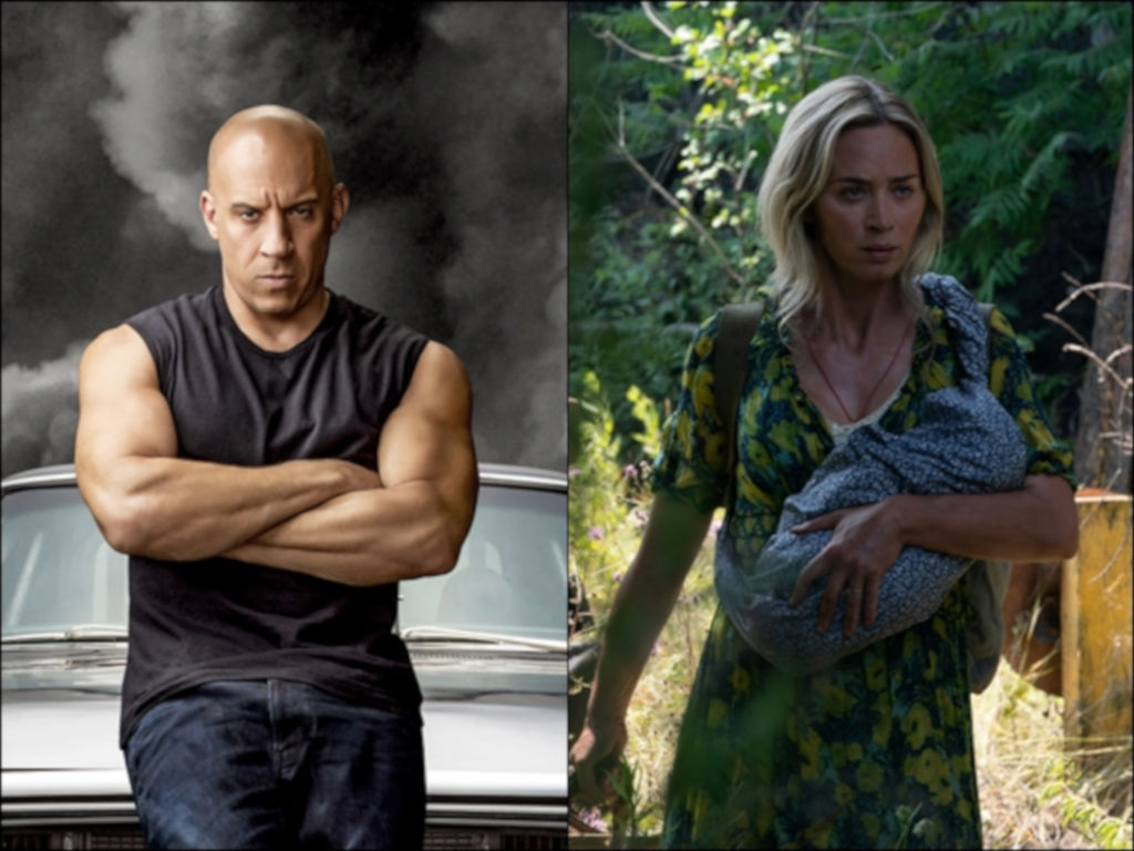 """Fast & Furious 9: The Fast Saga"" and ""A Quiet Place Part II"" have both been postponed."