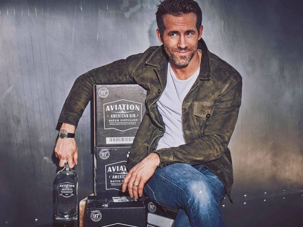 Ryan Reynolds has sold his Aviation Gin to Diageo but will continue to be the face of the brand for the next 10 years.