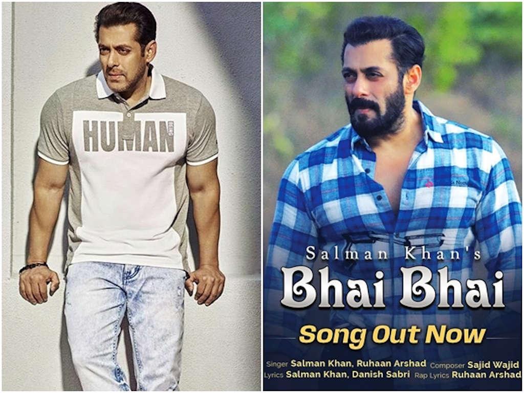 Salman Khan harap para peminat dapat menikmati lagu istimewa yang digubah khas buat mereka.
