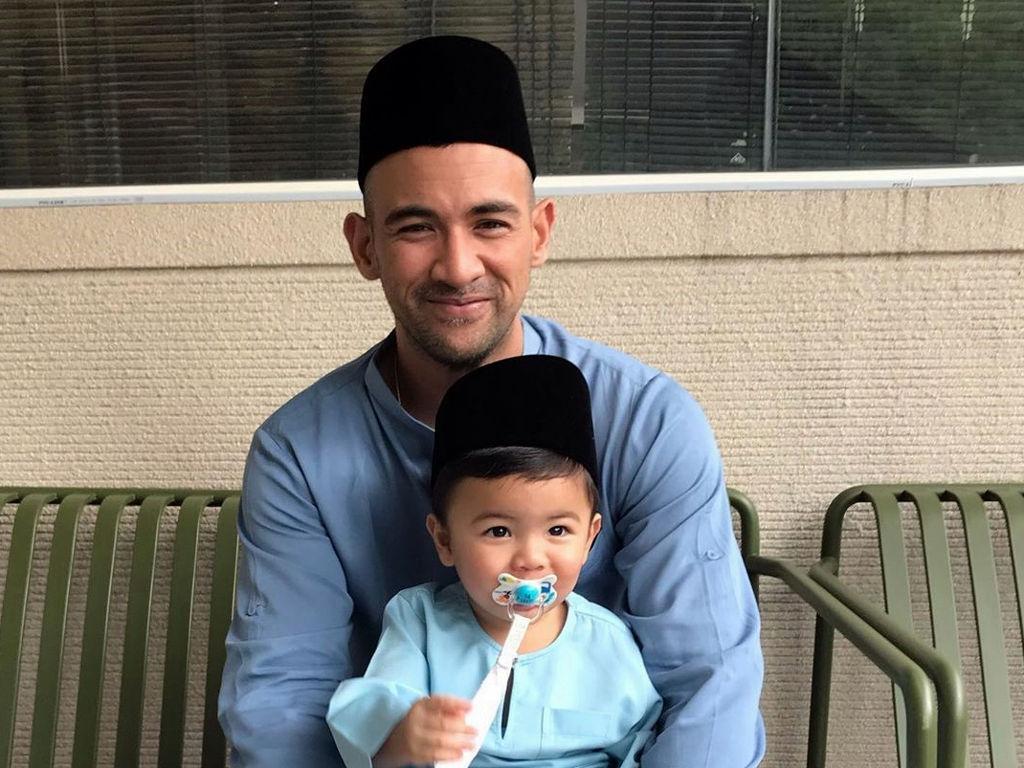 Sharnaaz Ahmad ingin pastikan Jebat Jayden tidak berasa kehilangan seorang bapa.