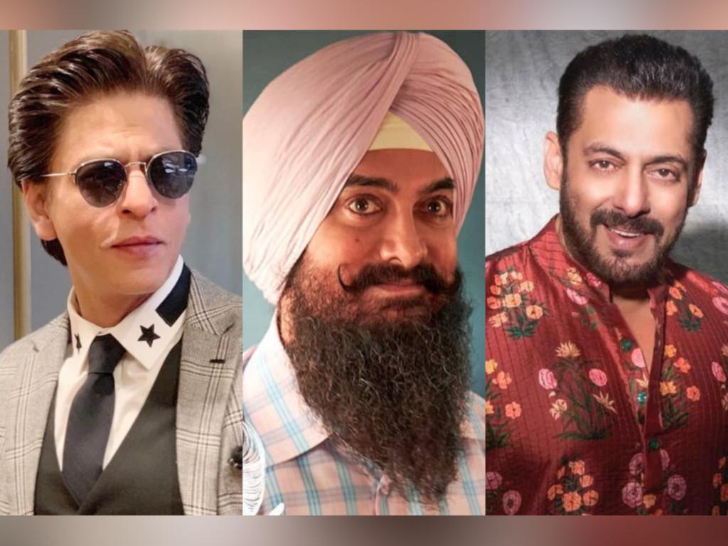 Ini merupakan gandingan pertama Shah Rukh Khan, Aamir Khan dan Salman Khan!