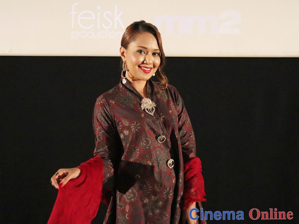 Ainul Aishah teruja membawa watak gelap buat kali pertama.