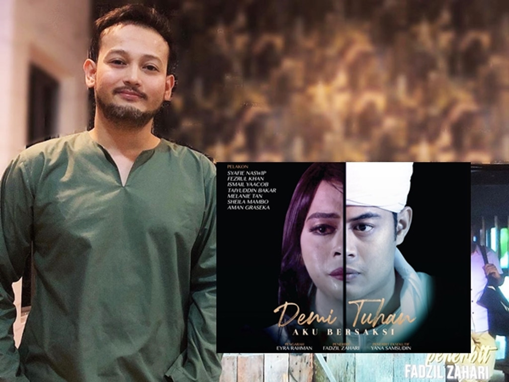 Fadzil Zahari harap dakwah telefilemnya berjaya sampai kepada penonton.