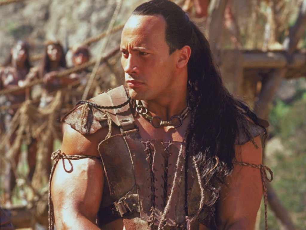 """Dwayne Johnson debuted as the Scorpion King in 2001's """"The Mummy Returns"""" before reprising the role in the 2002 spin-off."""