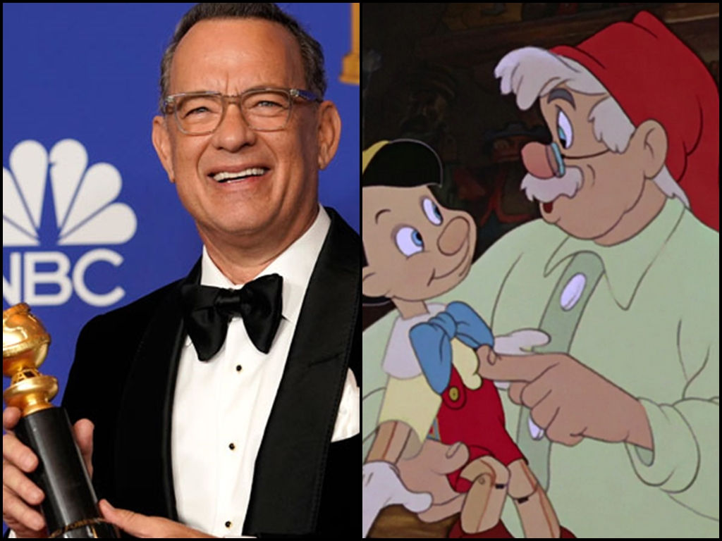 """Tom Hanks is interested in playing Geppetto after reading the live-action """"Pinocchio"""" script."""