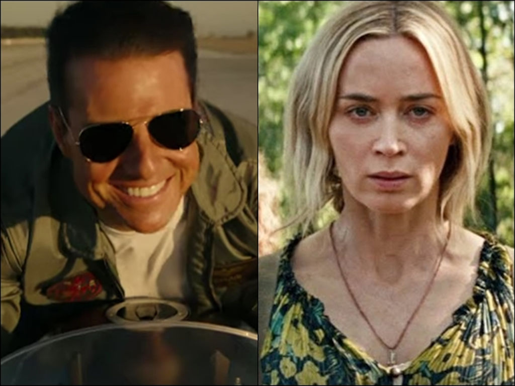 """Top Gun: Maverick"" and ""A Quiet Place Part II"" will both still be released this year."