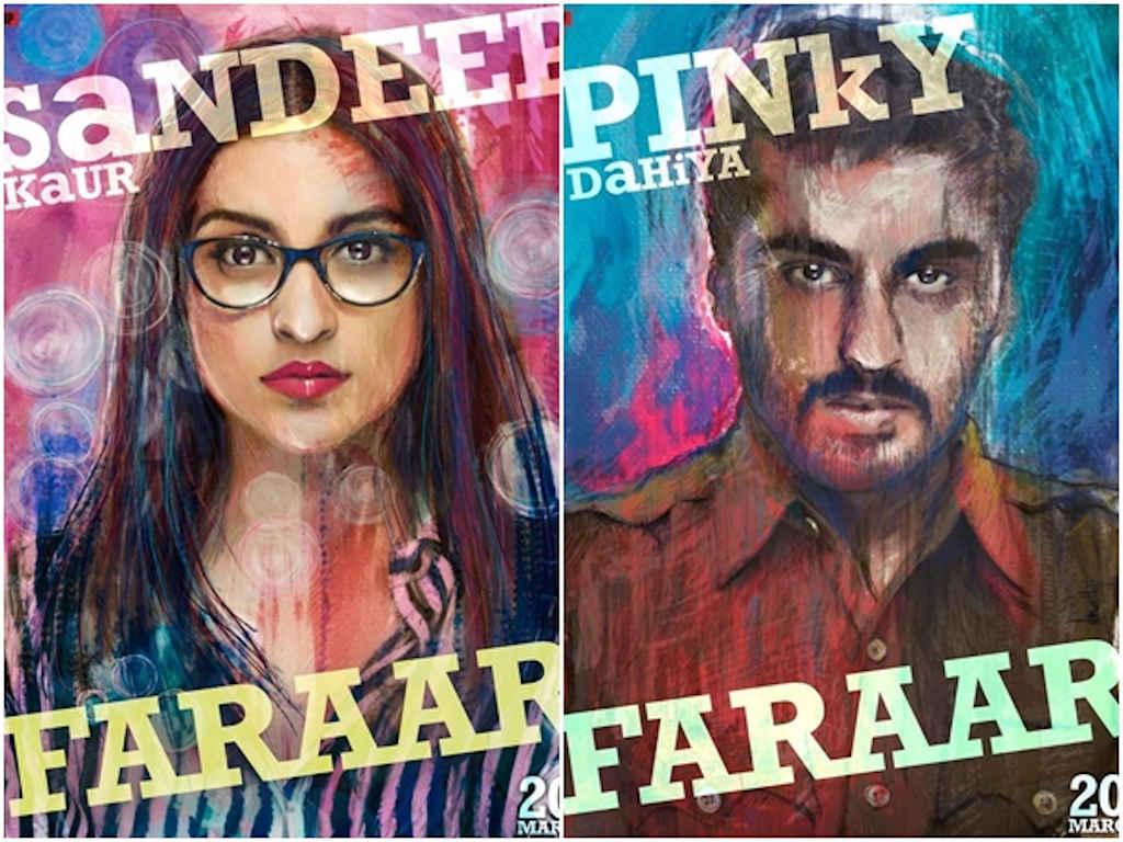 Parineeti dan Arjun akan jayakan watak dua warga India berbeza latar belakang.