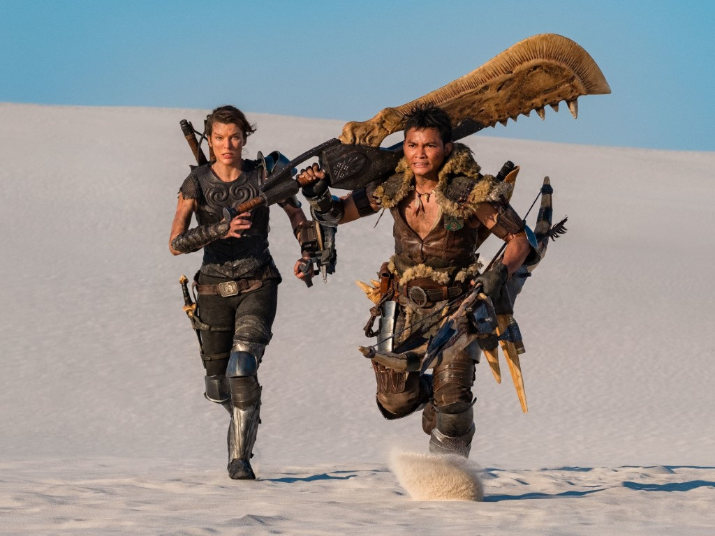"The Milla Jovovich and Tony Jaa-starring ""Monster Hunter"" is dashing to an earlier release date."