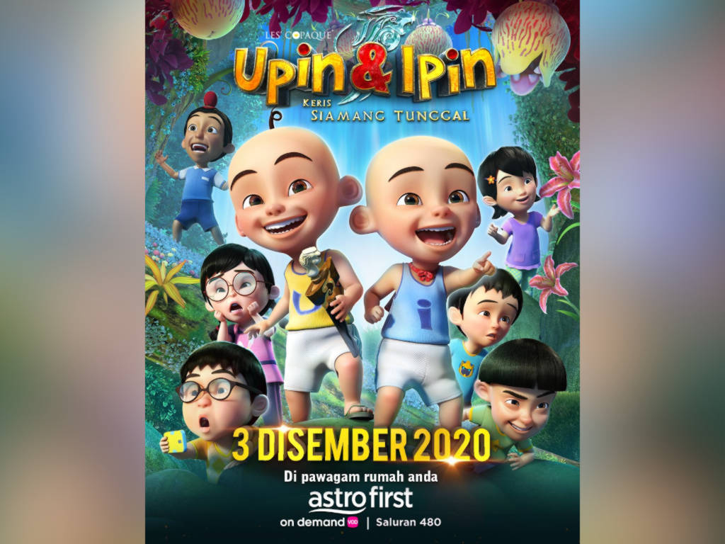 Don't miss out on the adventures of  Upin, Ipin and their friends on Astro First!