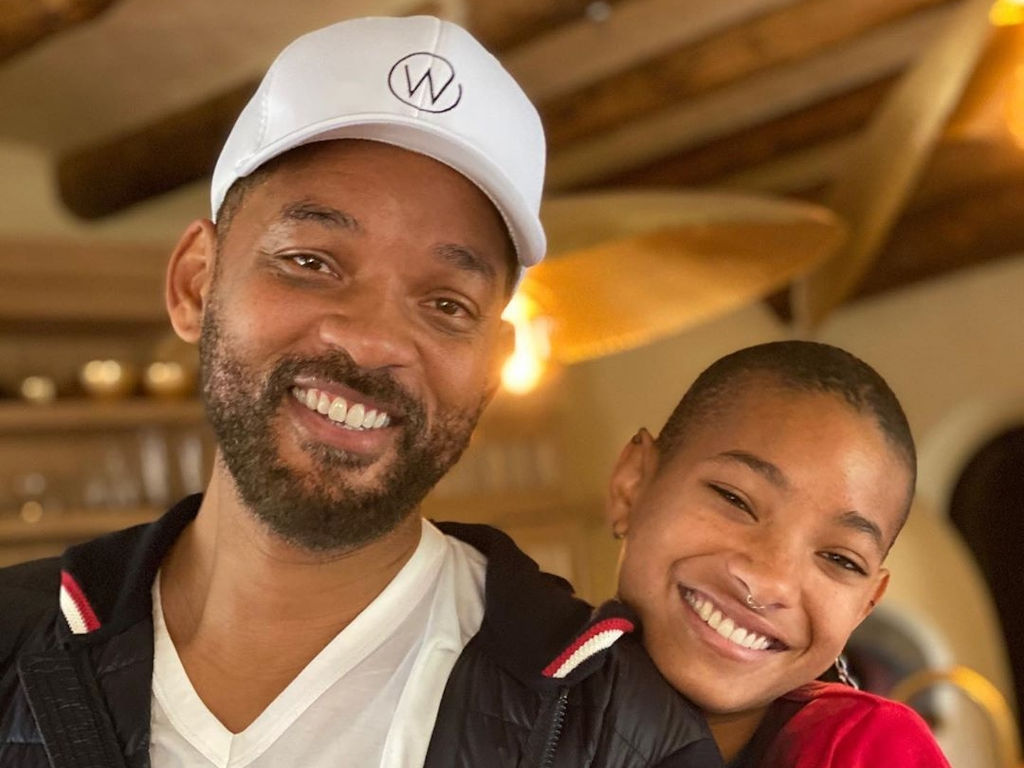 Will Smith, seen here with daughter Willow, is bringing smiles to people's faces with his new comedy series.
