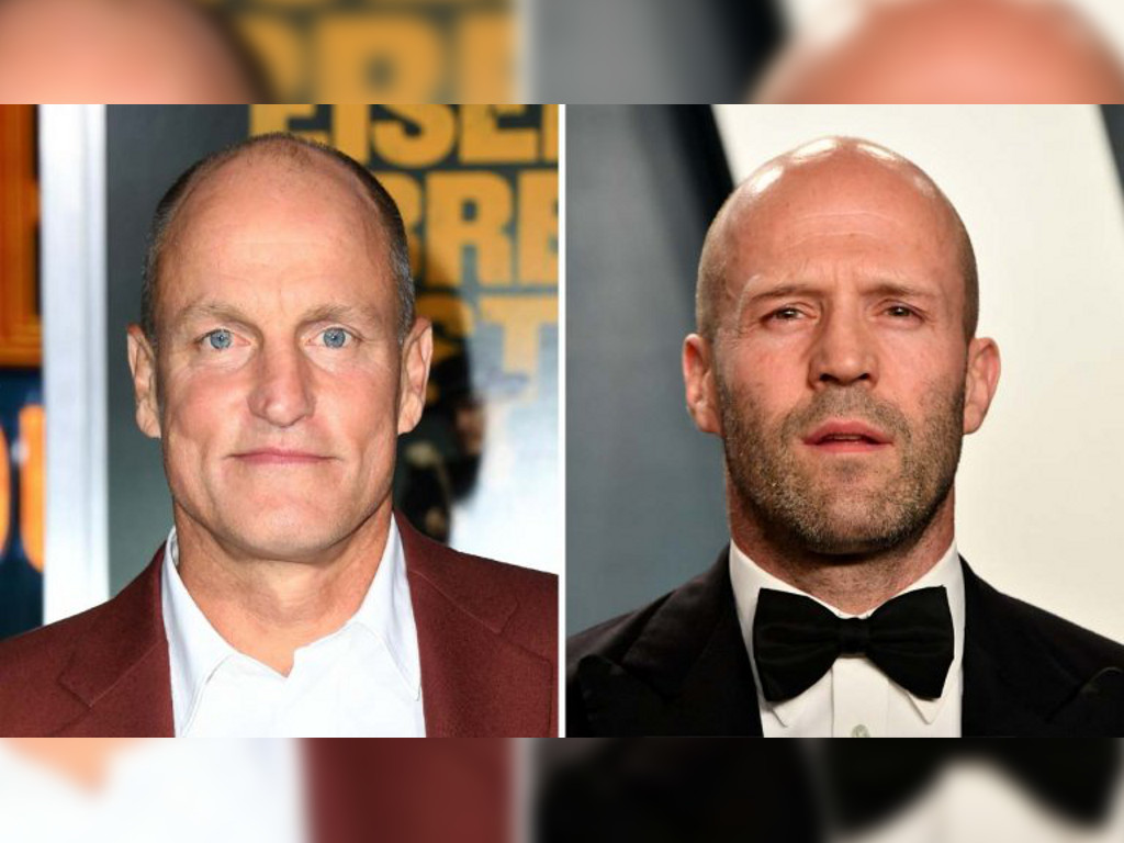 """Woody Harrelson (L) will star as the titular assassin in """"Man from Toronto"""" since Jason Statham (R) has vacated the role."""