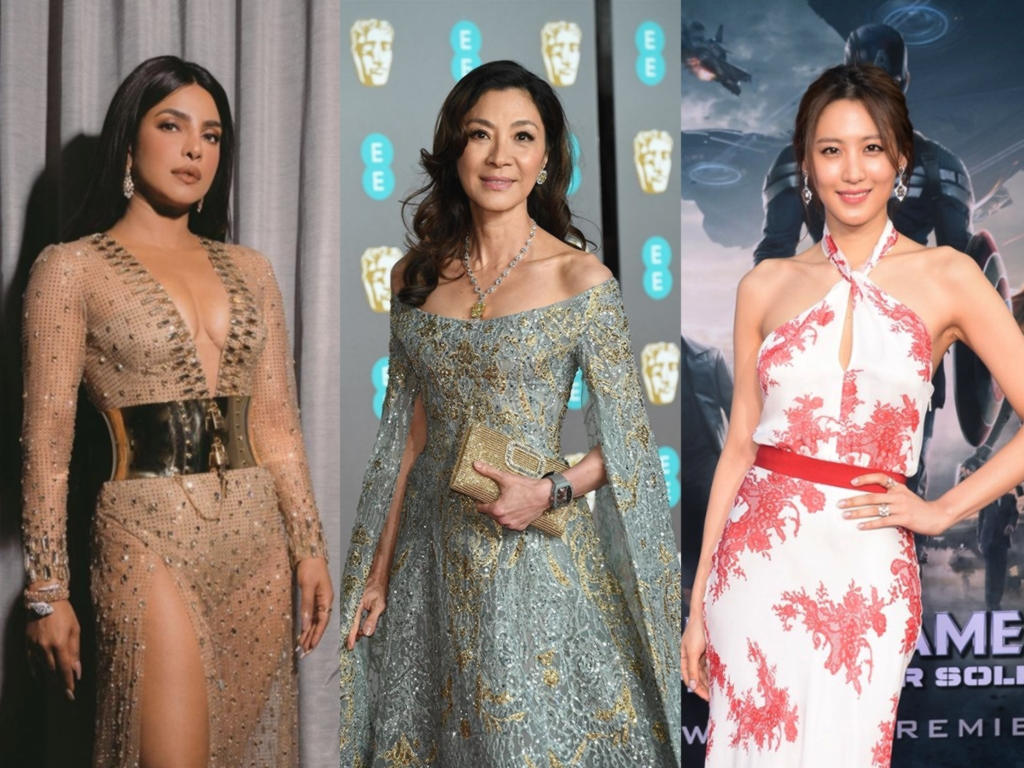 These gorgeous and talented ladies are simply beacons of Asian excellence, beauty and grace