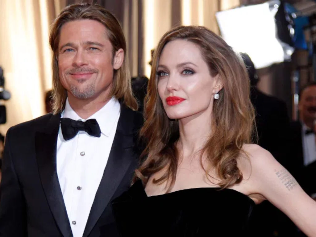 The couple was famously known as Brangelina