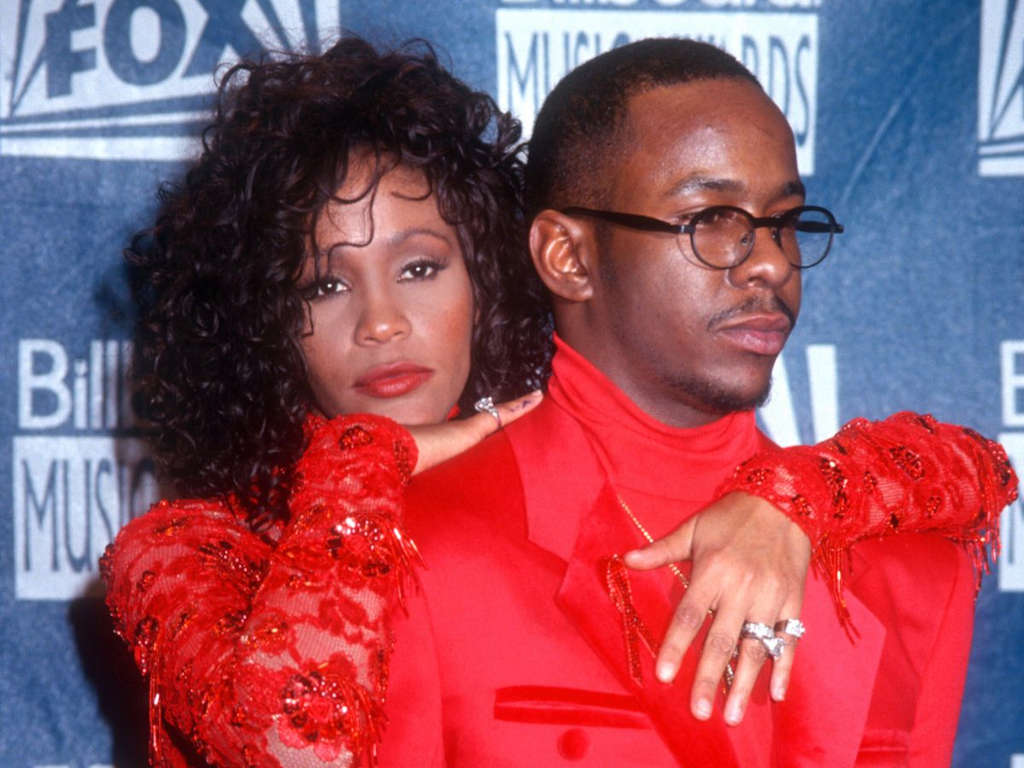 Bobby Brown and Whitney Houston were married from 1992 to 2007