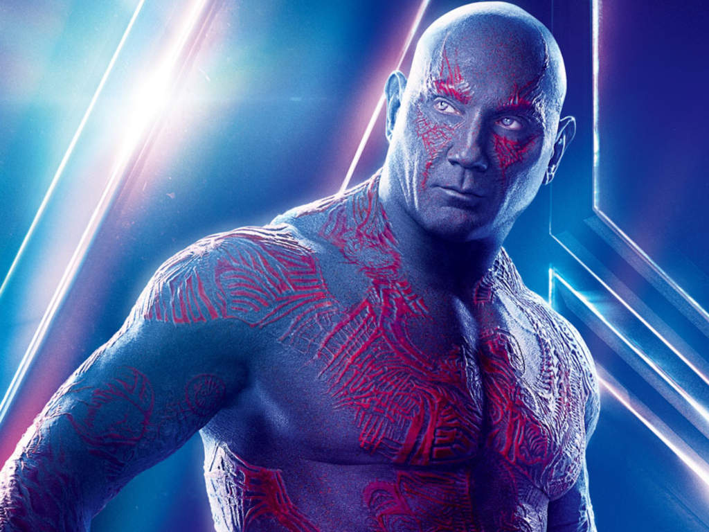 We can't imagine anyone else being Drax but Dave Bautista